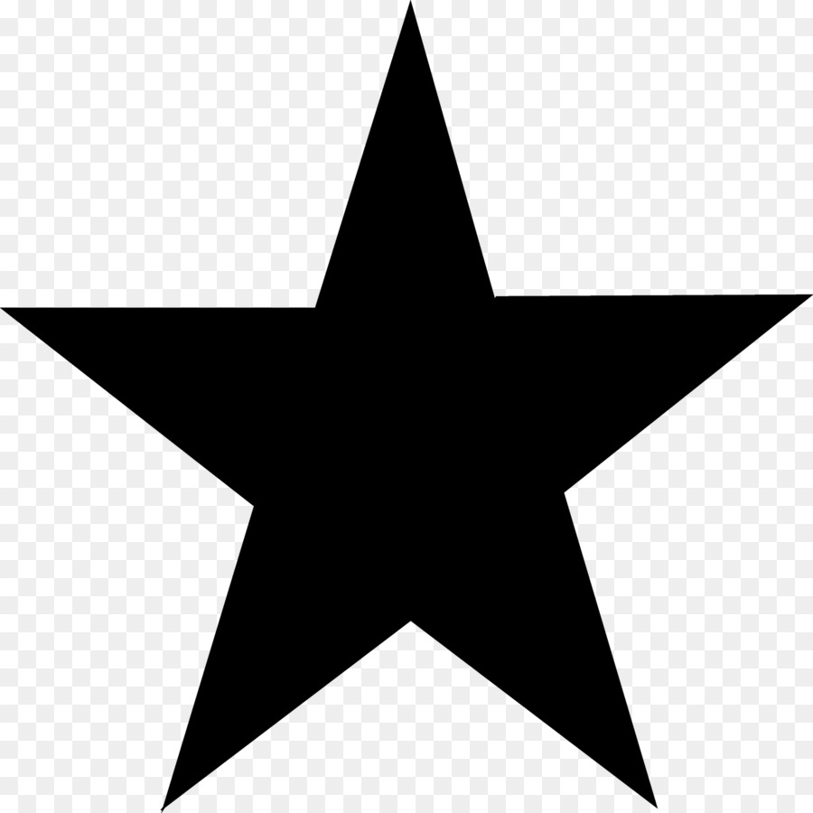 Download Free png Blackstar Five pointed star Clip art star.
