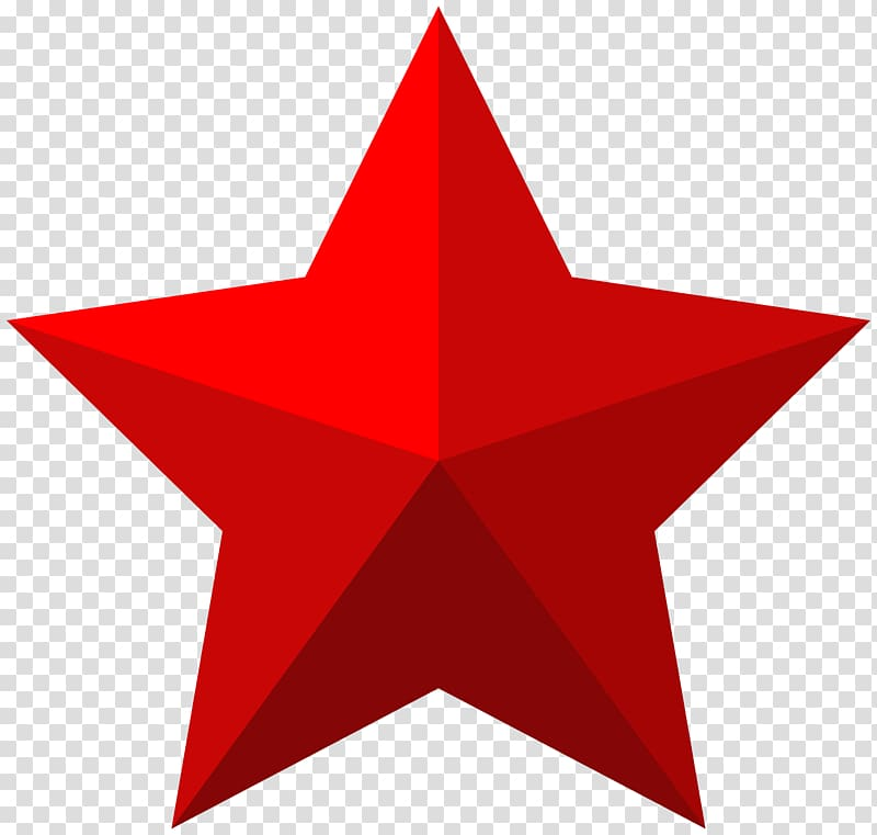 Star Shape Icon , Red Star , red star illustration.