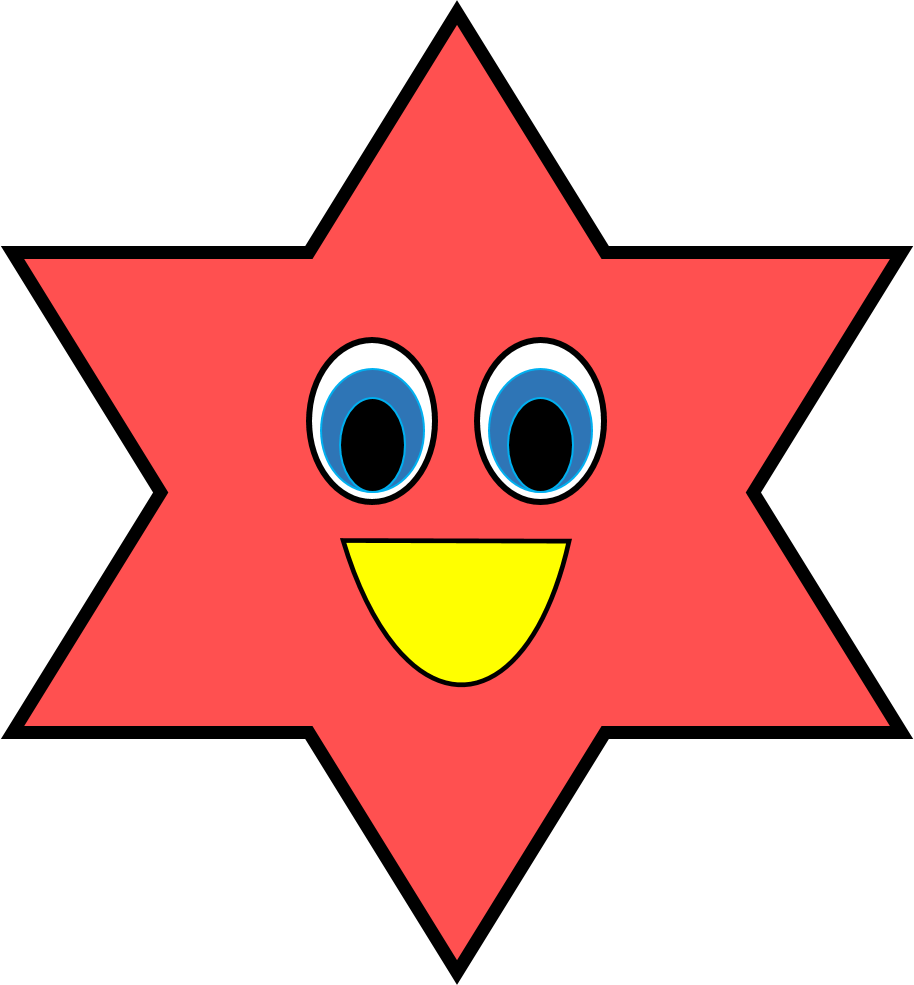 Star Shape Clipart Sketch 327.