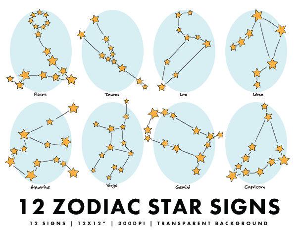 Zodiac clipart.