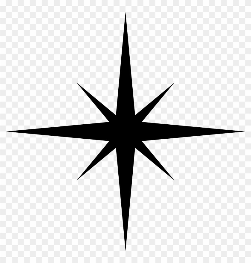 Simple Star Silhouette.