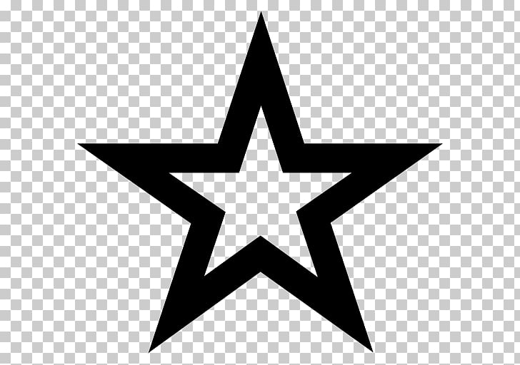 Star Silhouette Shape , star PNG clipart.