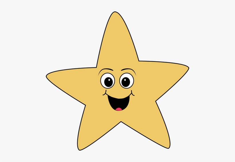 Happy Face Star Clip Art.