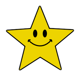 Smiley Star Clipart.