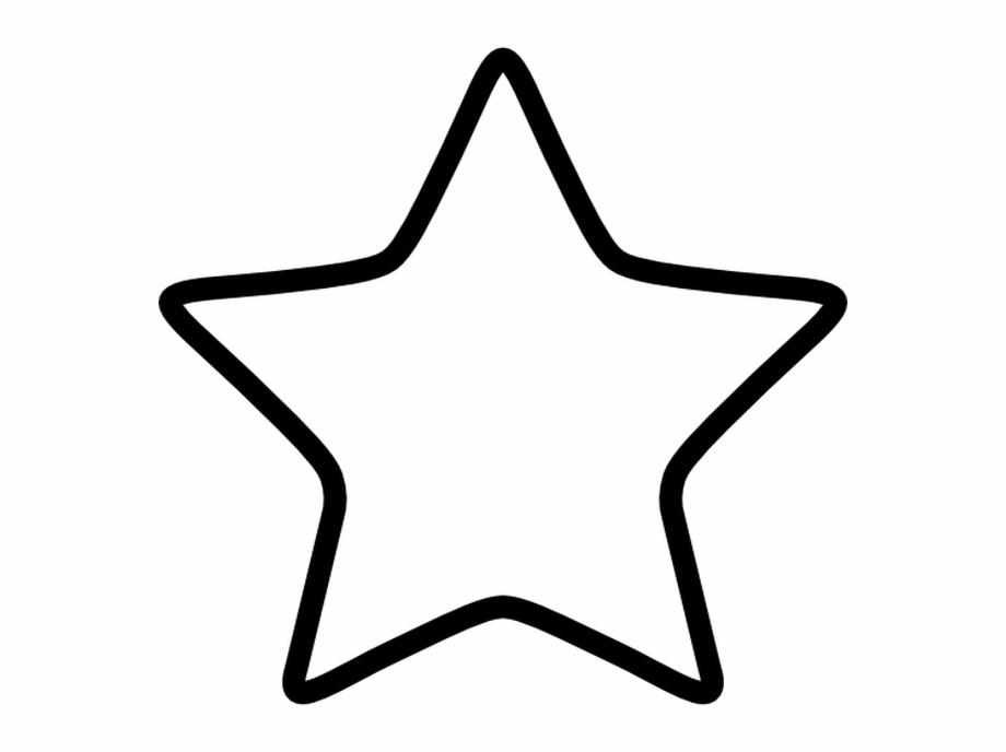 Star Symbol Text Star Icon Transparent Background.