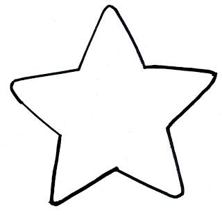 Star Outline Printable.