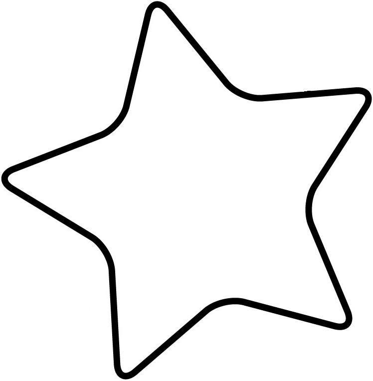 Blank Star Template.