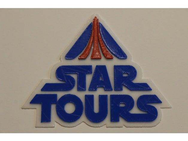 Star Tours Logo by B_Layne.