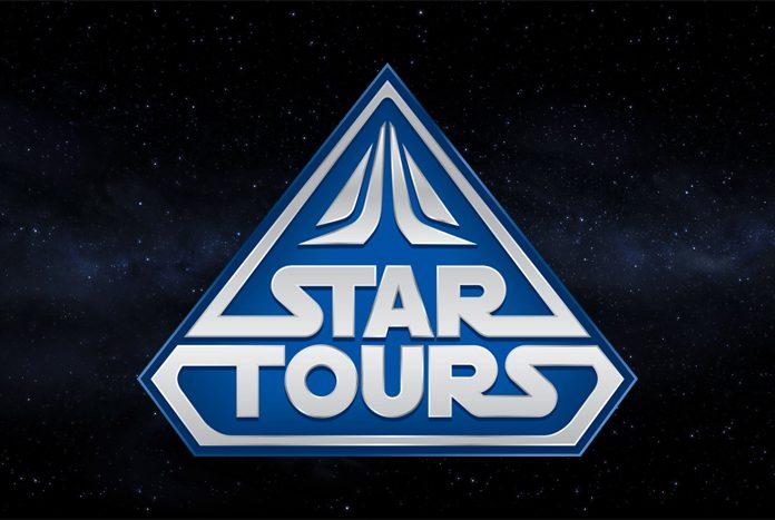 Disneyland Paris Star Tours Construction.