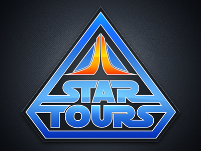 Star Tours by Louie Mantia on Dribbble.