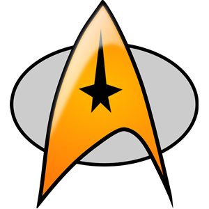 star trek badge clipart, cliparts of star trek badge free.