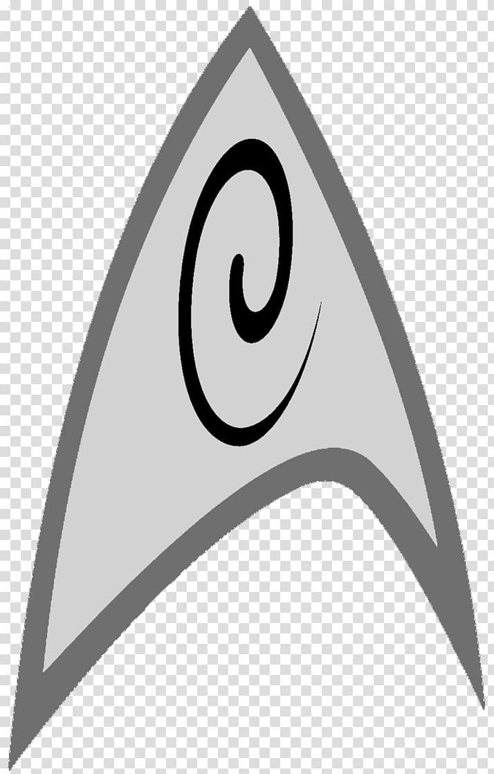 Star Trek Starfleet Symbol Logo, trekking transparent.