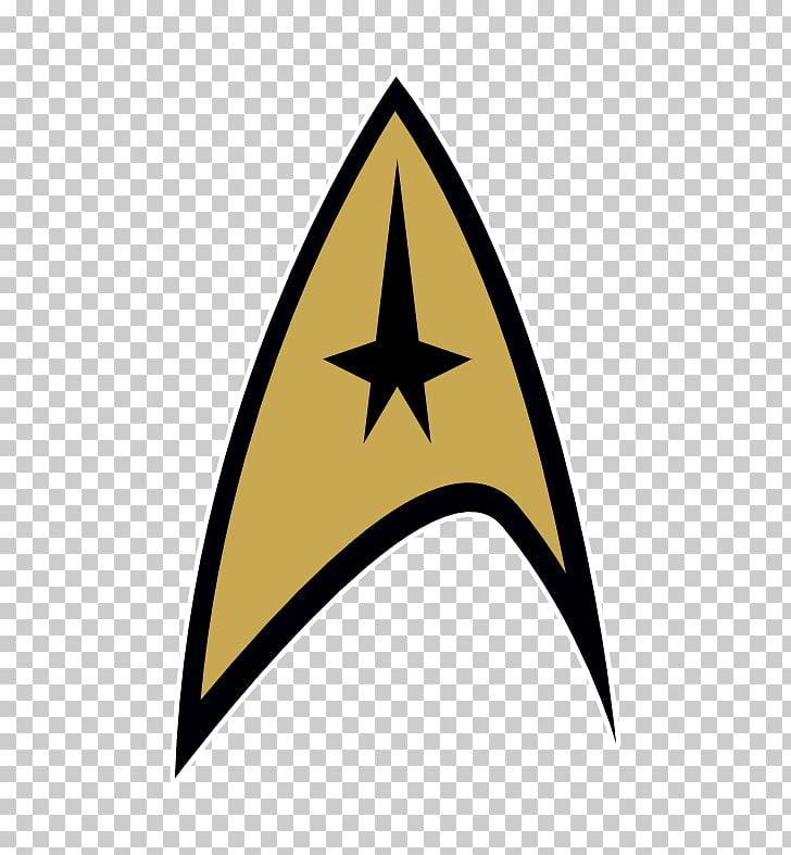 Star Trek Insegna Badge Starfleet Symbol, Cool Star s PNG.