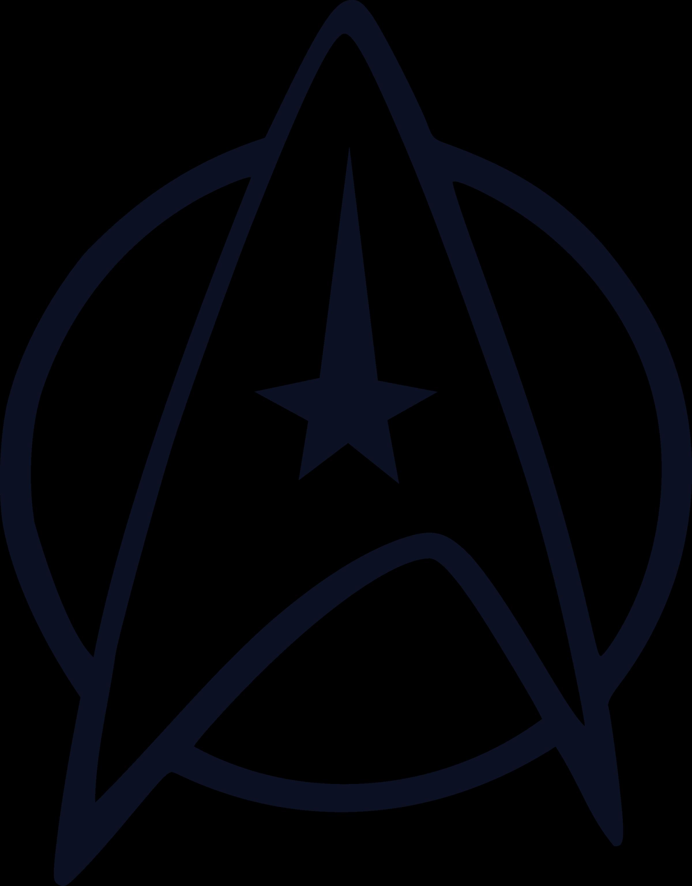 Vector graphics Star Trek Clip art Starfleet Logo.