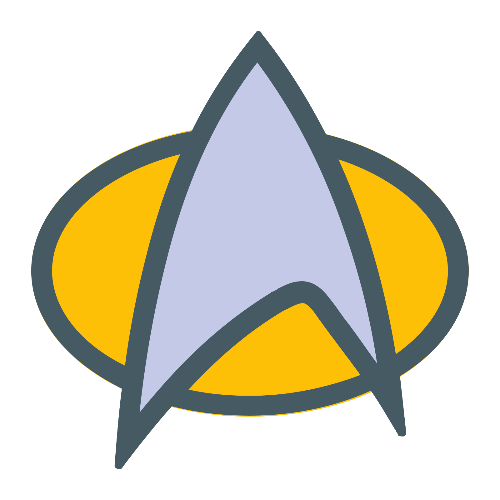 Computer Icons Badge Symbol Star Trek Communicator.