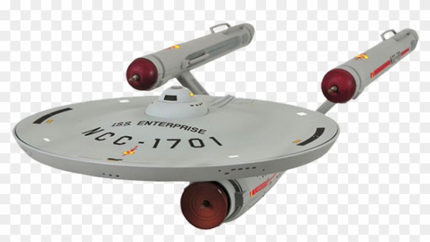 Spaceship, Model, Isolated, Enterprise.