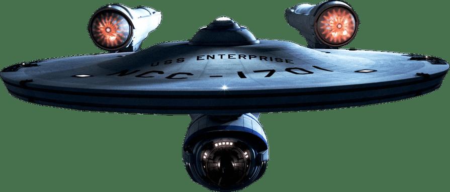 Star Trek Starship Enterprise.