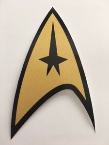 Details about Star Trek Federation Starfleet Logo Bumper Laptop 5 Inches  Vinyl Decal Sticker.