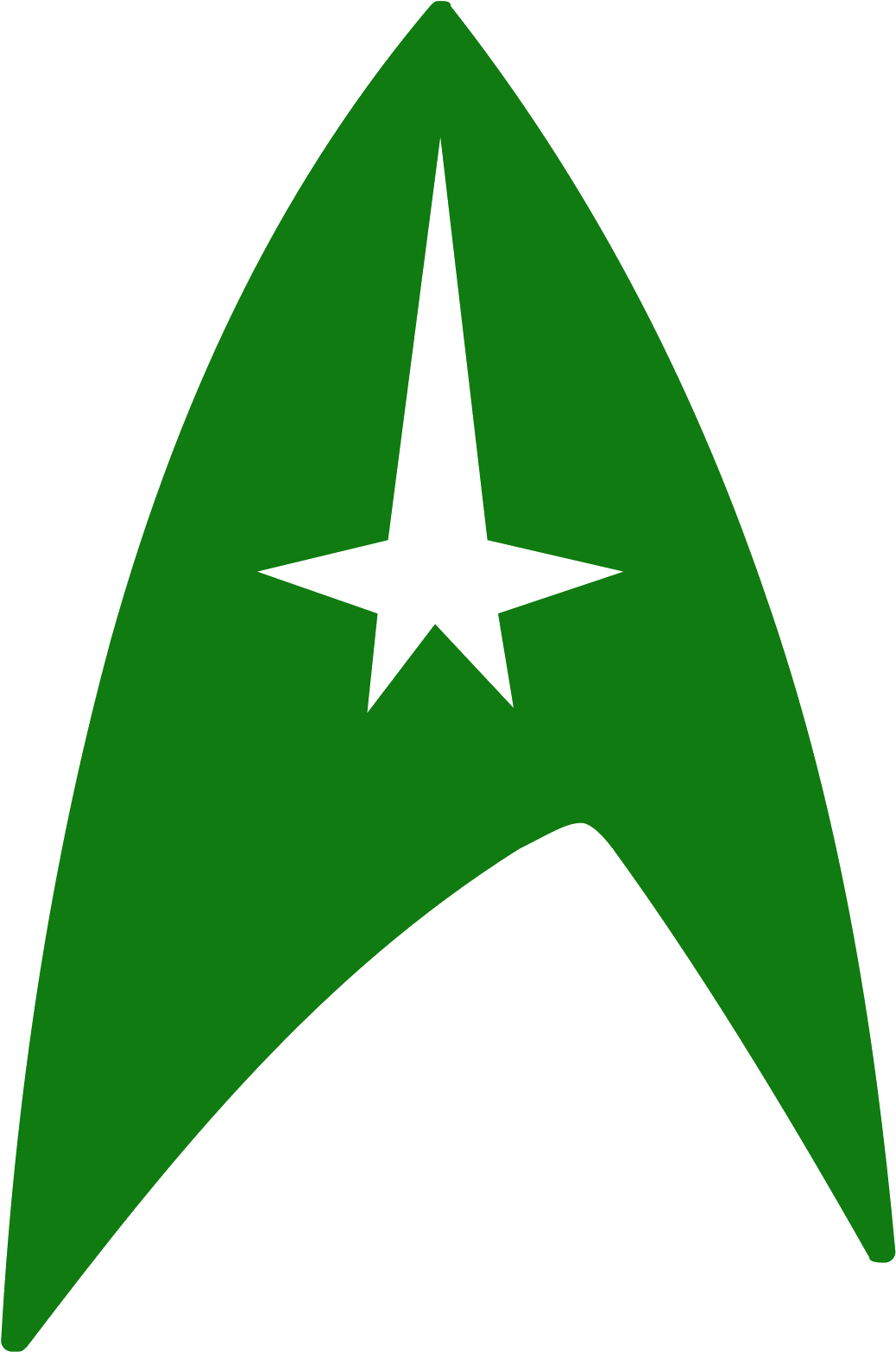 Star Trek Symbol Icon.