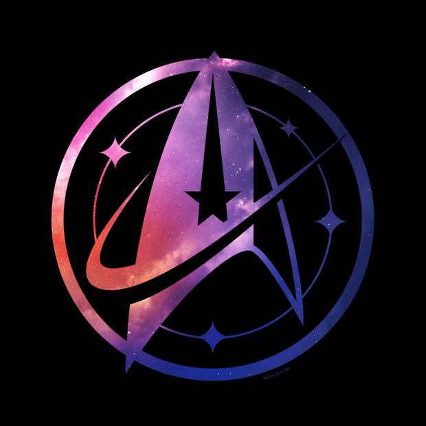 Star Trek: Discovery Universe Logo Sherpa Blanket.