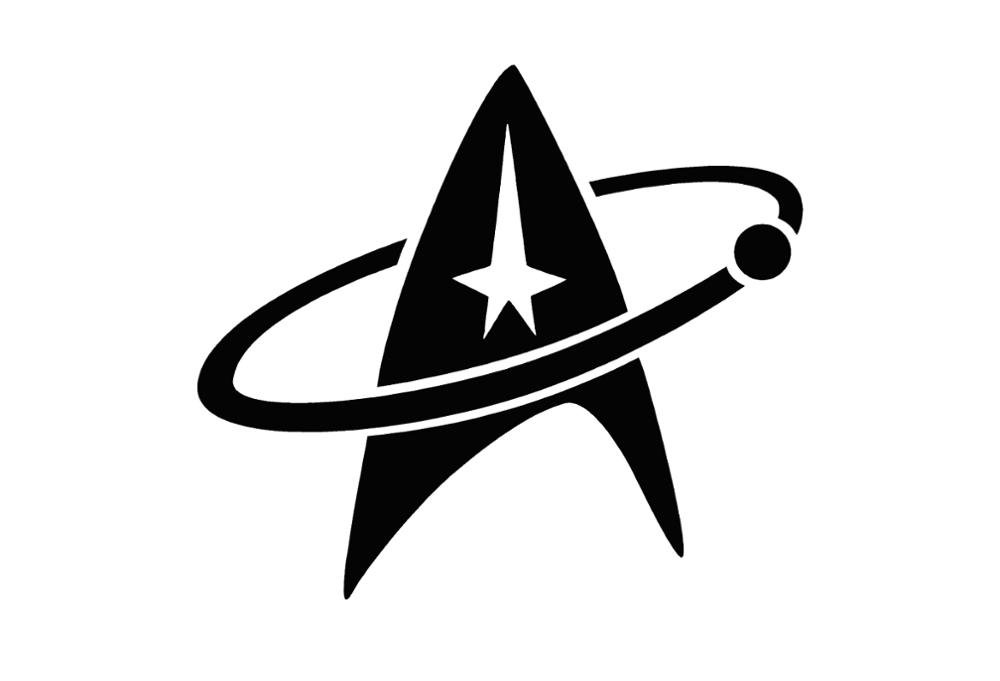 Meaning Star Trek logo and symbol.