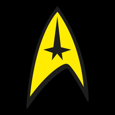 Star Trek vector logo.