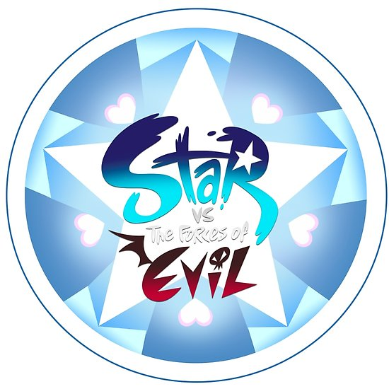 \'Star vs the forces of evil Logo\' Poster by imposibear.