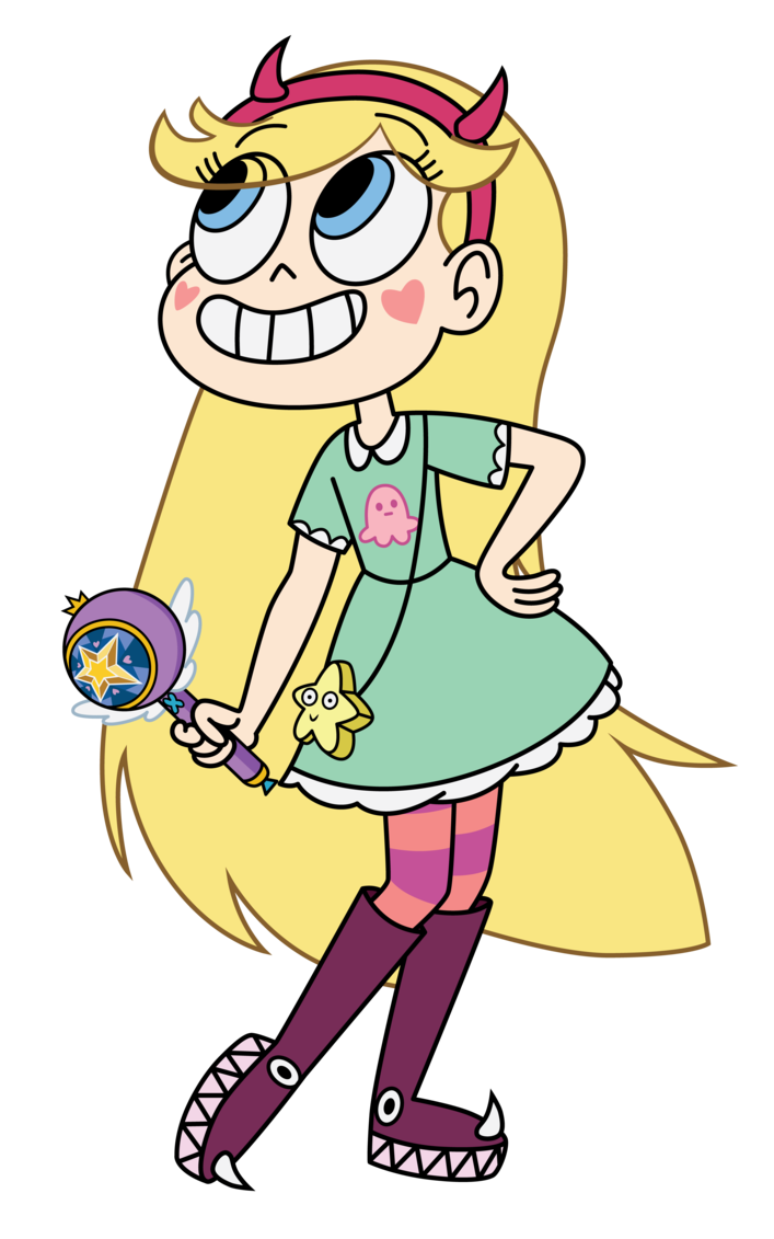 Star Butterfly by Star.
