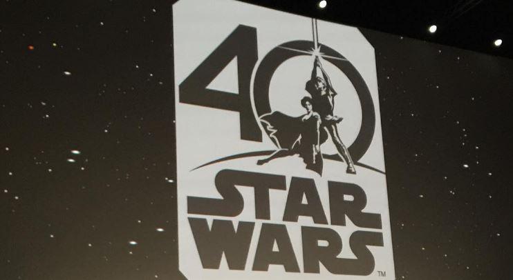 Star Wars\' 40th Anniversary Logo Revealed.