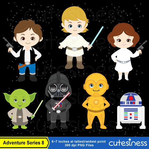 4k Star Wars Clipart.