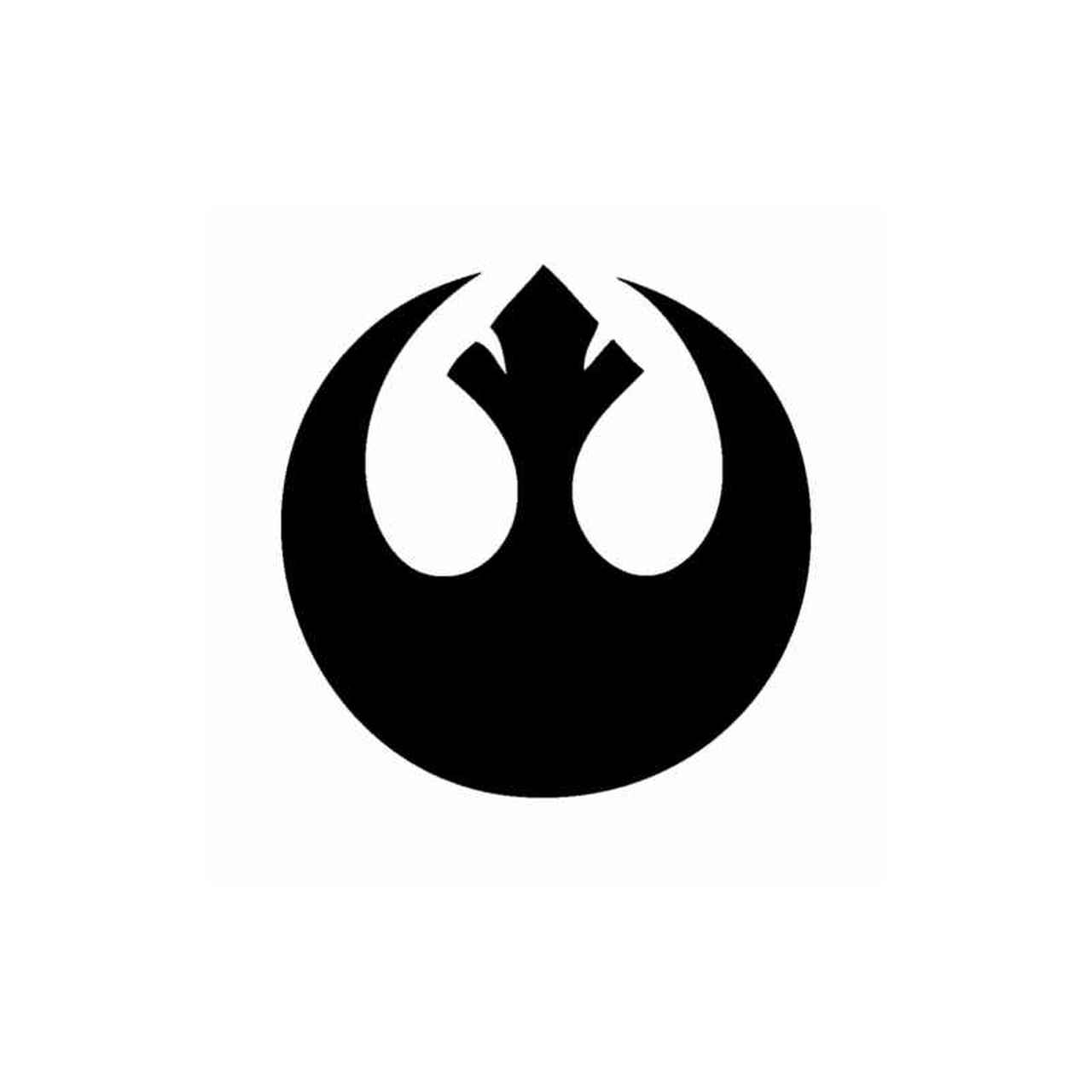 Star Wars Rebel Alliance Logo Decal.