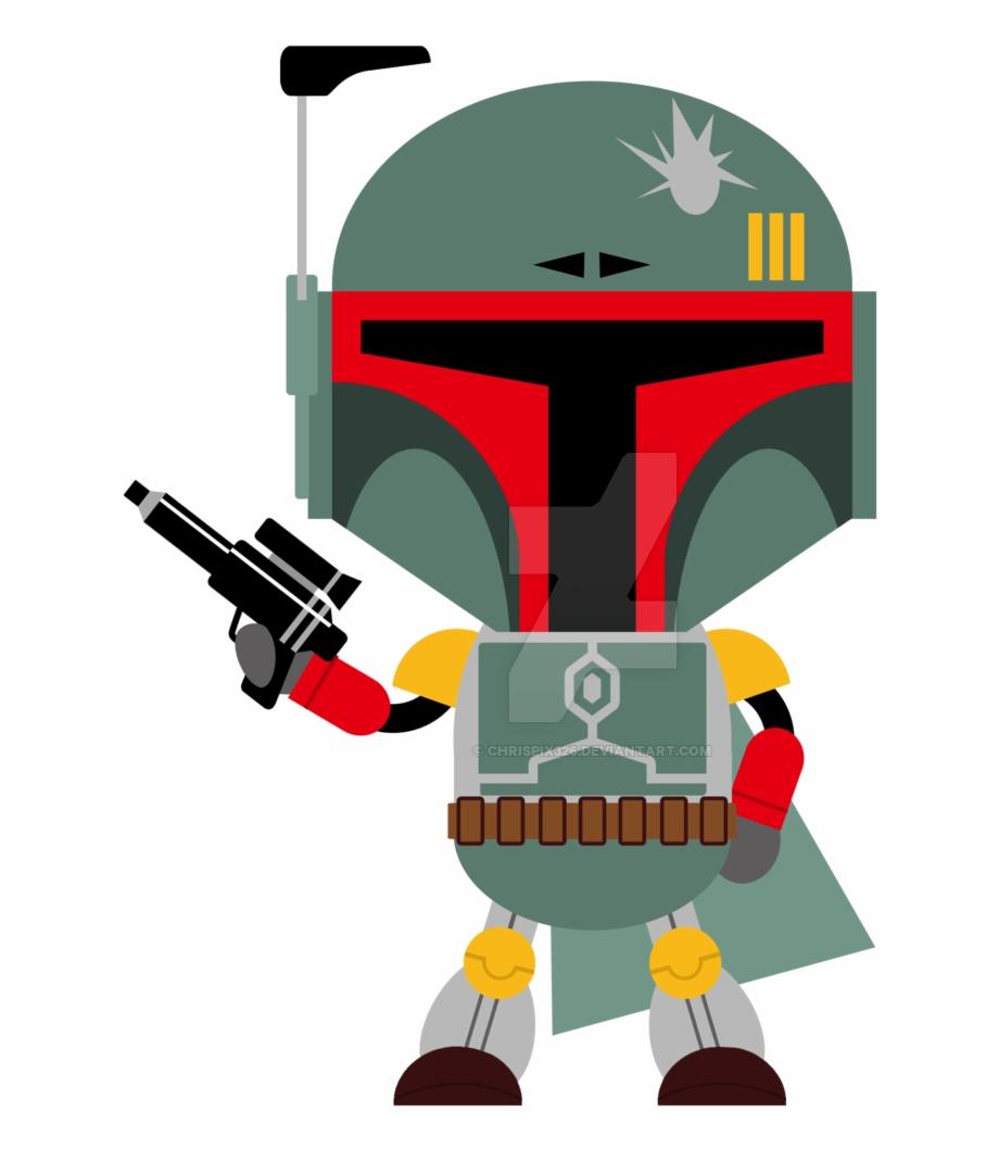 Boba Star Wars Baby Clip Art Png.