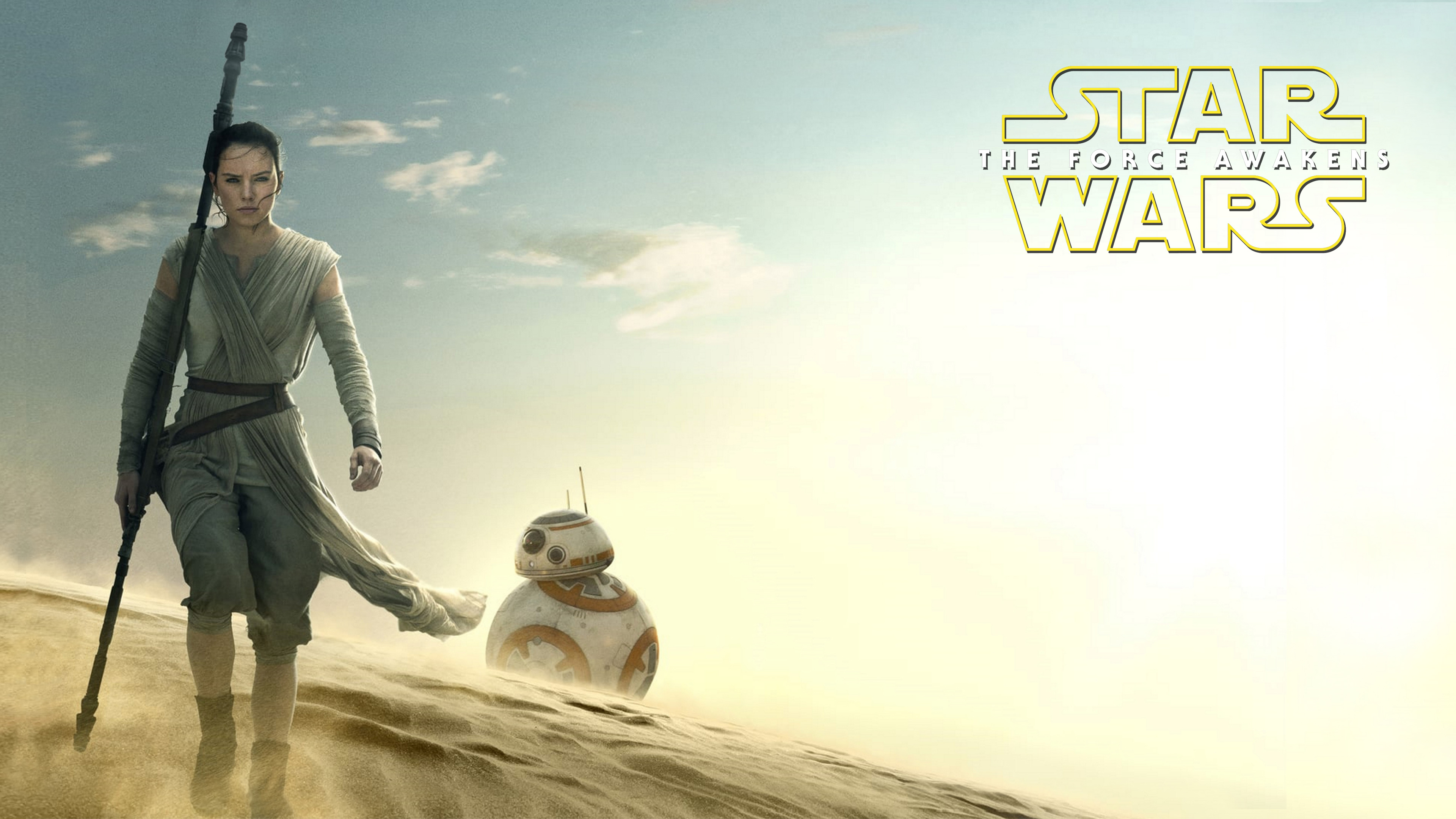 Star Wars 7 4K Wallpaper.