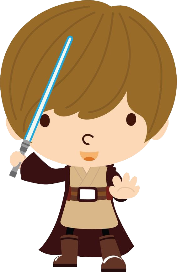 Star Wars Cute PNG Clipart Background.