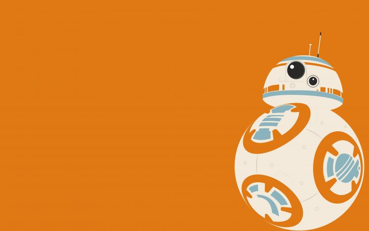 BB 8, Star Wars: The Force Awakens, Star Wars, Minimalism.