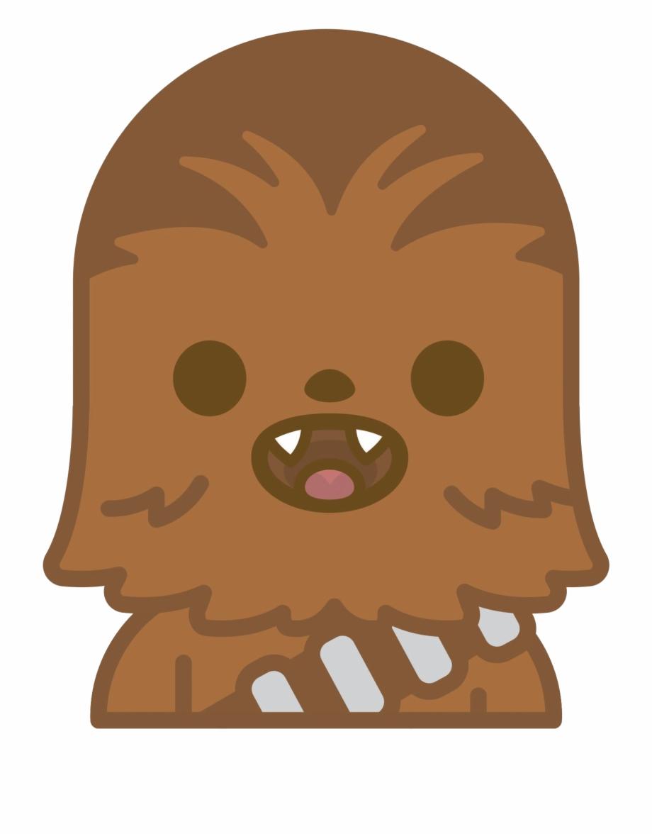 Star Wars Clipart Emoji Chewbacca Clipart.