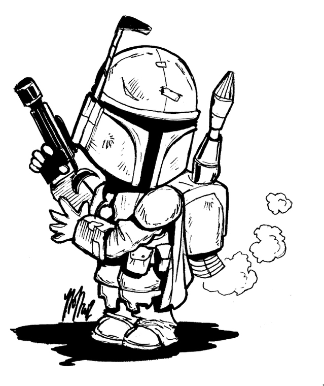 Star Wars Black And White Clipart To Line Resource.