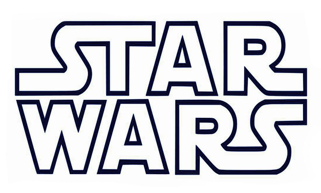Star Wars Black And White Clipart Images Free.