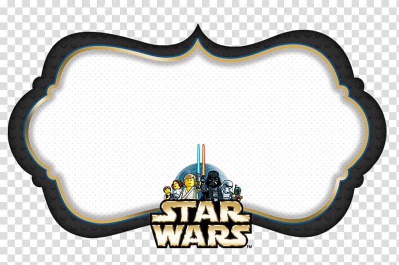Star Wars mini figures and border illustration, Anakin.