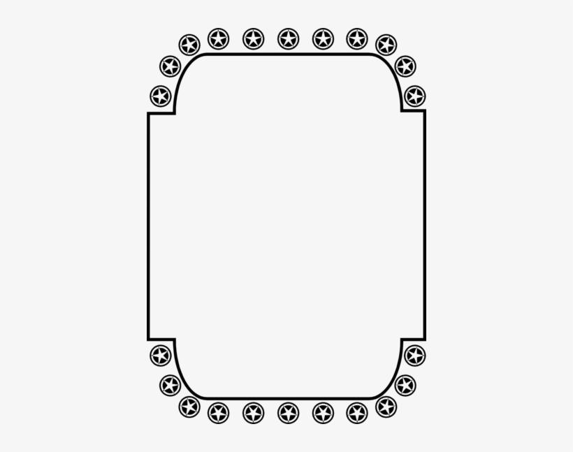 Star Border Clip Art Stars Clipart Black And White.