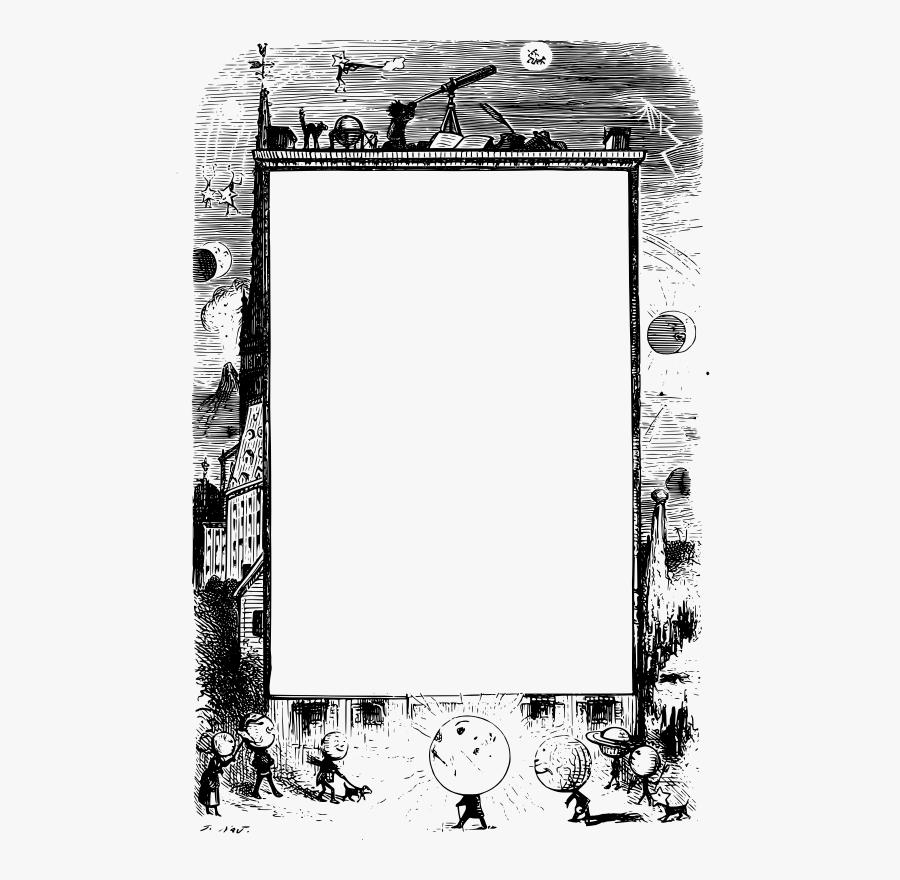 Astronomy Frame.