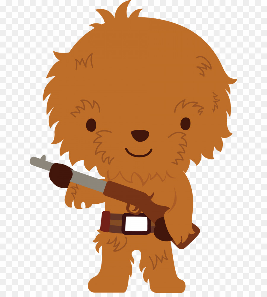 Star Wars Characters PNG Chewbacca Darth Vader Clipart.