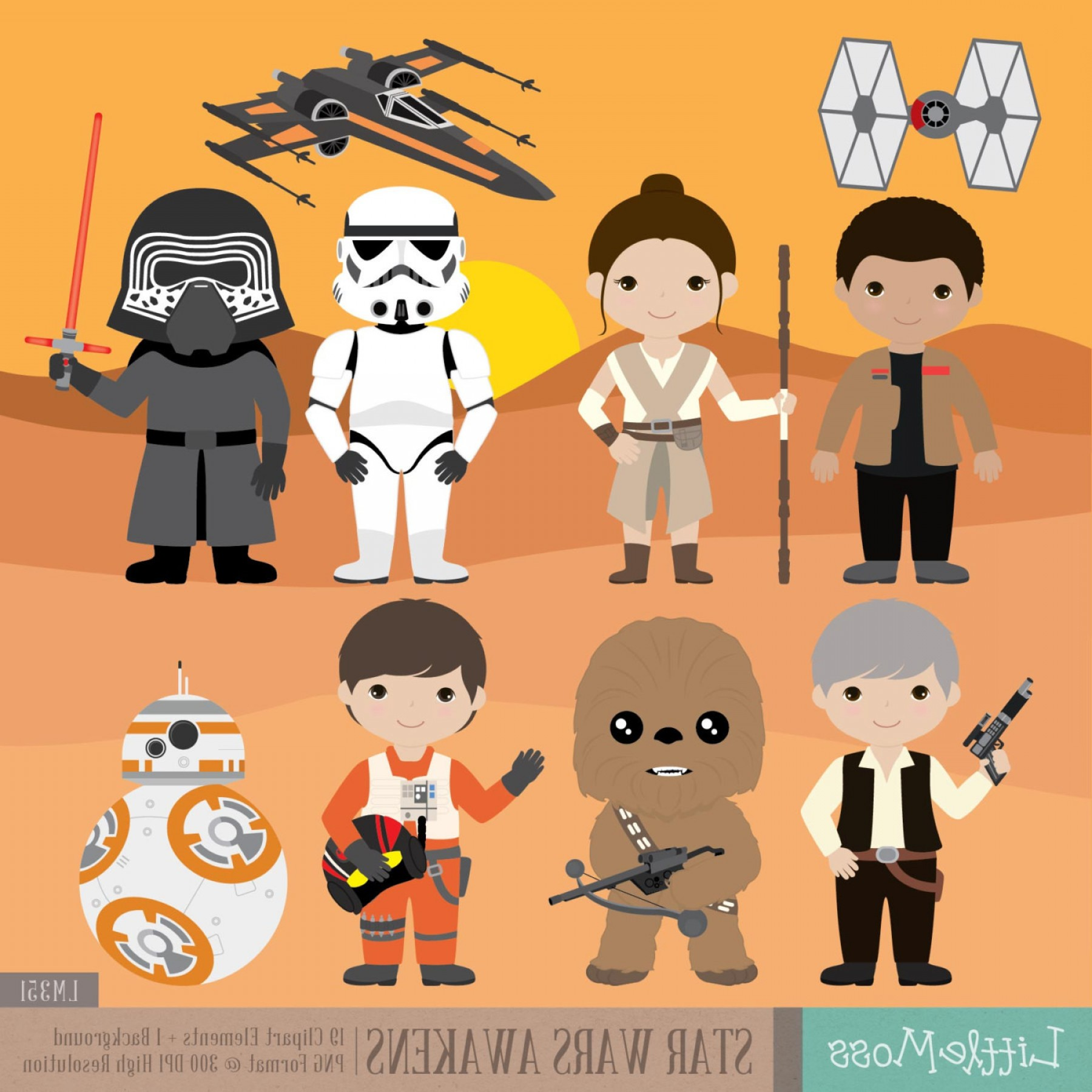 Il Fullxfull Qz Jpg Version Exceptional Star Wars Characters.