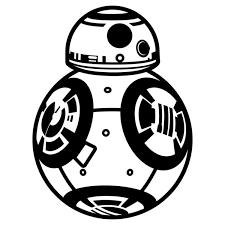 Image result for star wars black white clip art.