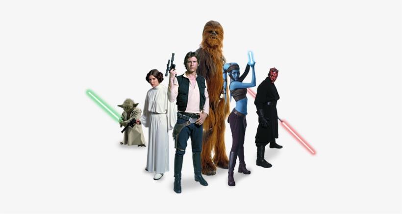 Star Wars Characters.