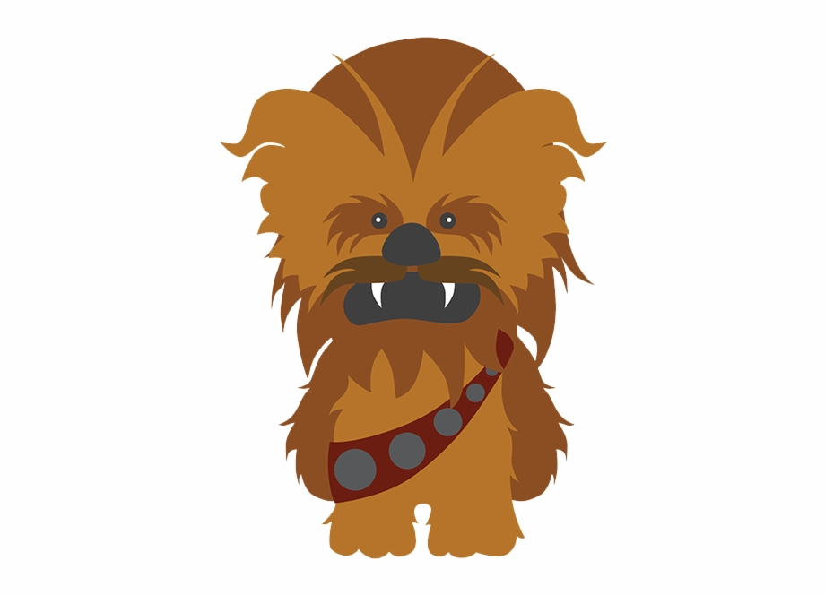 Star Wars Chewbacca Dibujo.