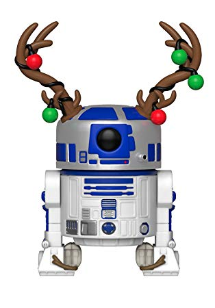 Funko 33891 POP Bobble: Star Wars: Holiday R2.