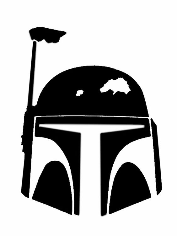 Star wars silhouette stencil and wars on clipart.