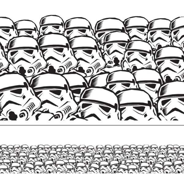 Star Wars Super Troopers Border.