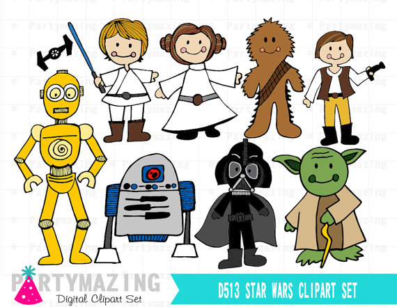 Star wars clipart free 4 » Clipart Station.